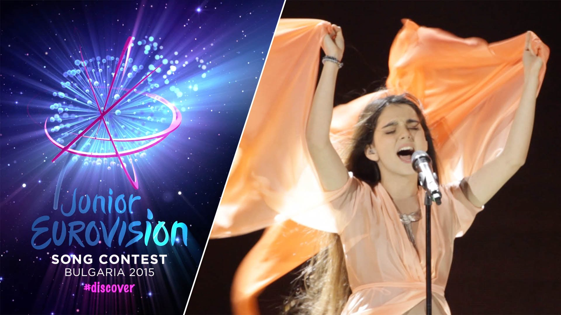 Анна Тринчер (Anna Trincher, Ukraine) - Первая генеральная репетиция [Junior Eurovision 2015]