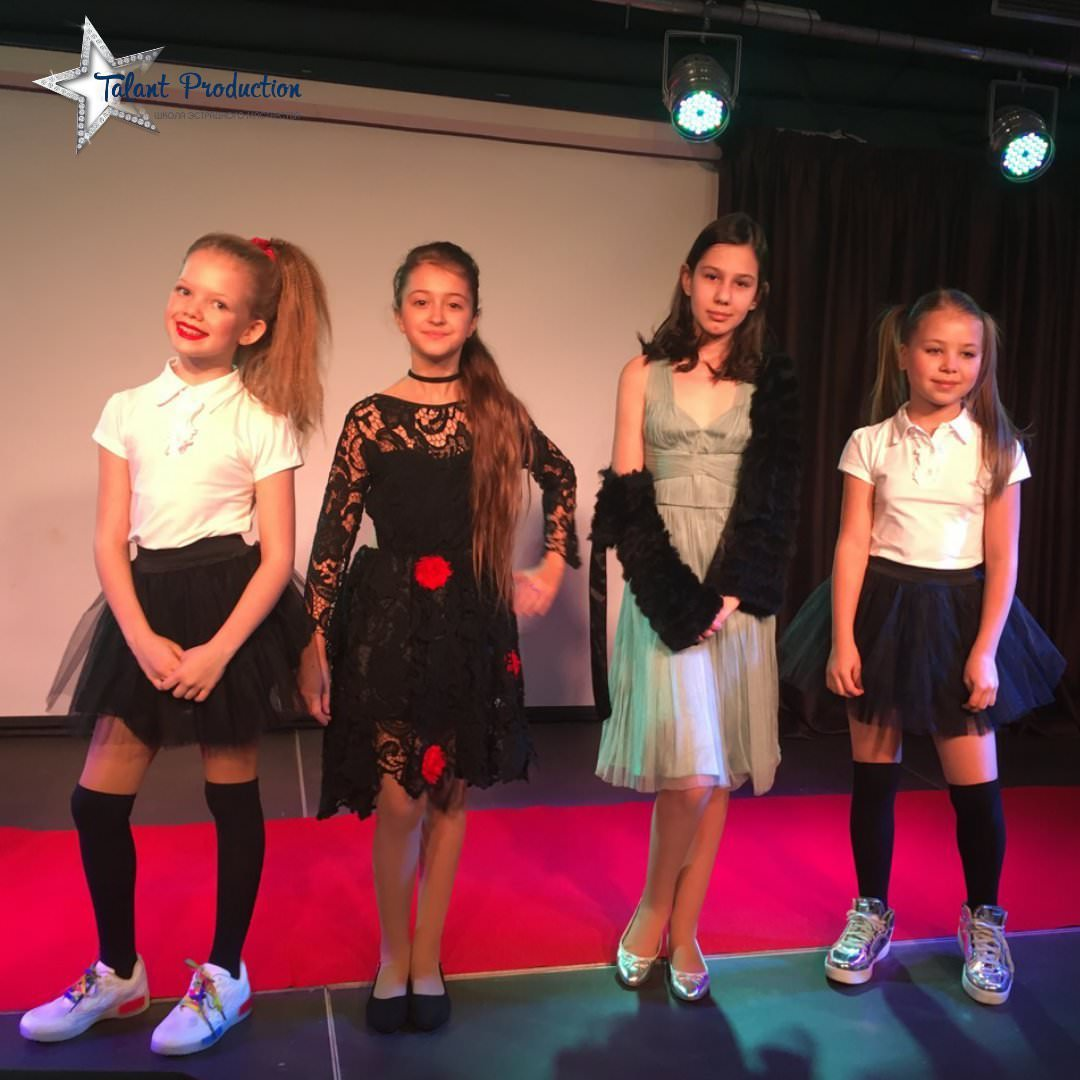 "Концерт ""Talant Production"" в рамках Kids Fashion Show"