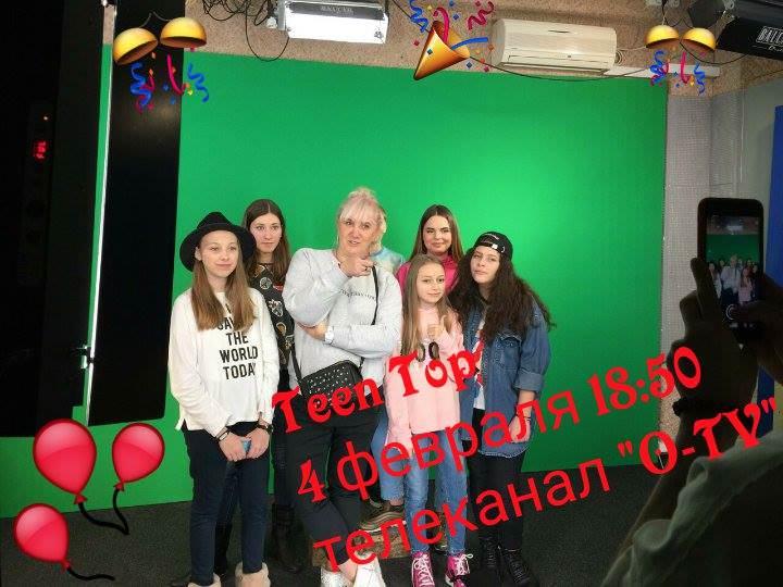 """""""Kids TV club"""" от """"Talant Production"""" на музыкальном телеканале """"O-TV"""" 4 февраля, в 18:50"""