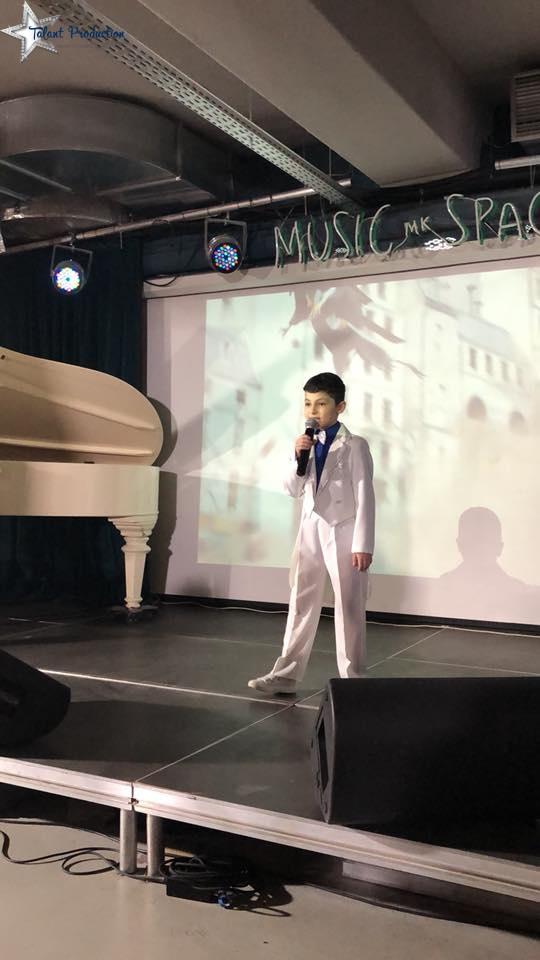 "Артист ""Talant Production"" Нардин Джафари участник первого в Украине конкурса ""Best Boy Model"""
