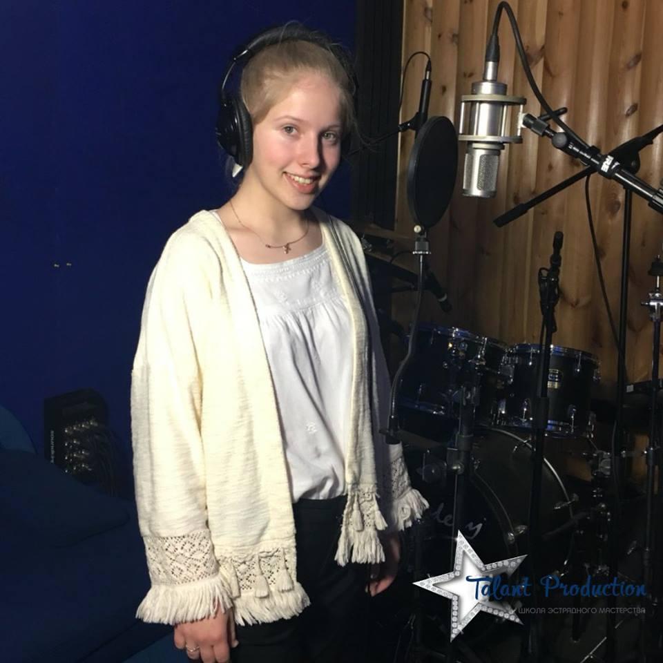 "Артистка ""Talant Production"" Елена Корзенюк в студии записала новый трек"