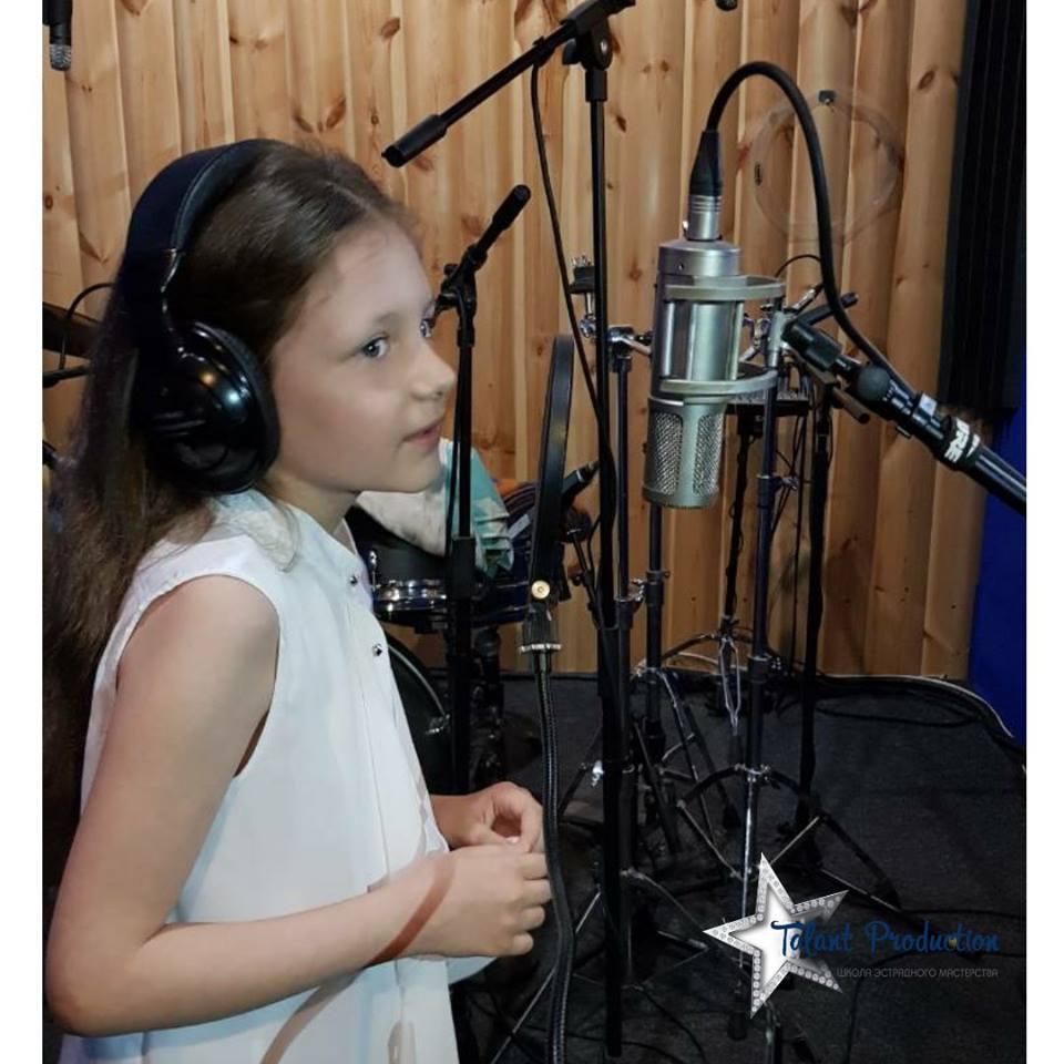 """Артистка """"Talant Production"""" Кира Зайцева"""