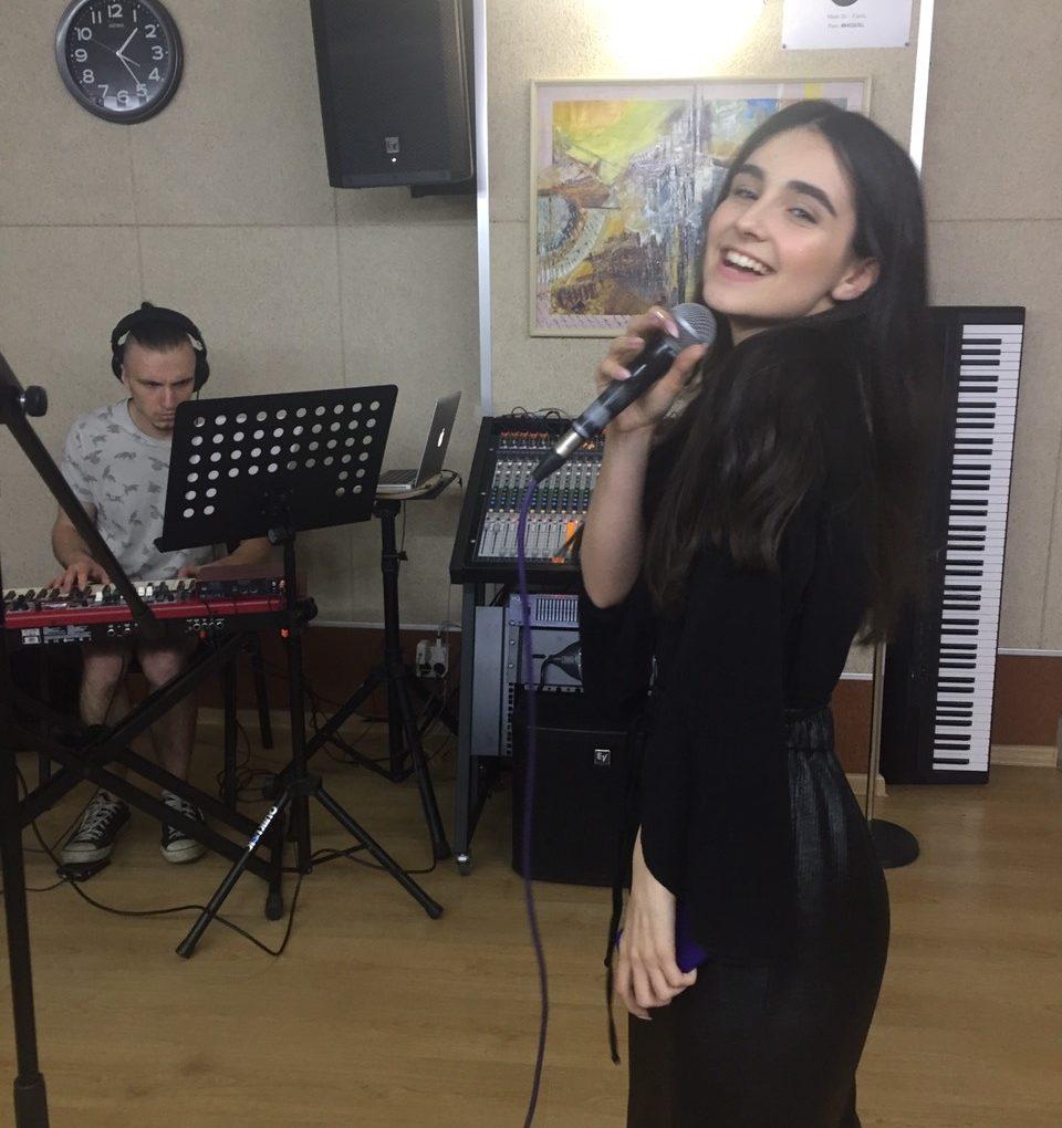"Артисты ""Talant Production "" на репетиции к отчетному концерту"