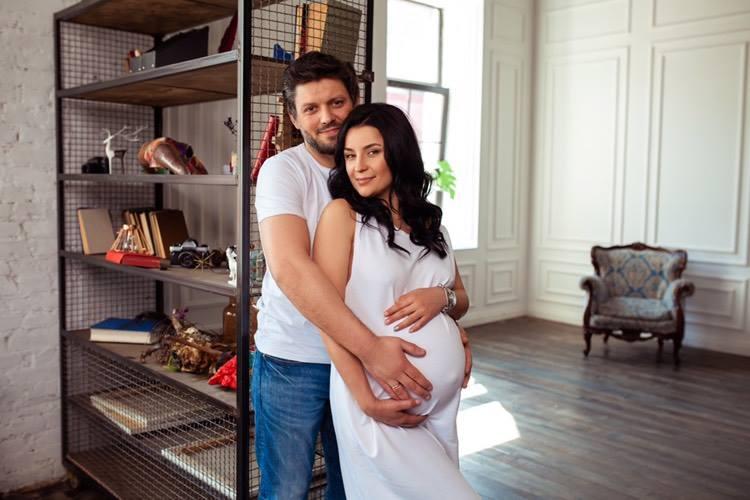 """Творческая семья """"Talant Production"""" поздравляет Ксению Сергеевну с рождением сыночка"""