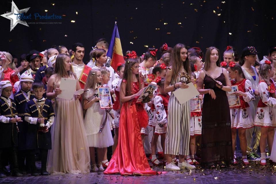 """Все конкурсанты """"Talant Production"""" получили призовые места на международном конкурсе"""