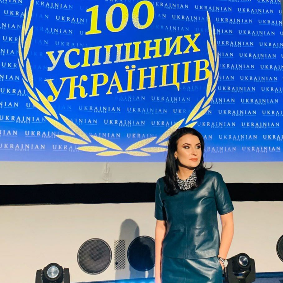 """Ксения Осика обладатель премии """"100 успешных украинцев"""""""